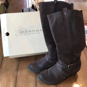 EUC Sonoma tall boots. Size 9.